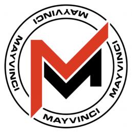 Mayvinci logo round