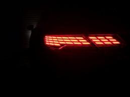 zadní světla